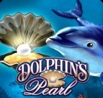 Дельфин в море - картина, демонстрирующая игру Dolphin's Pearl на сайте плей фортуна